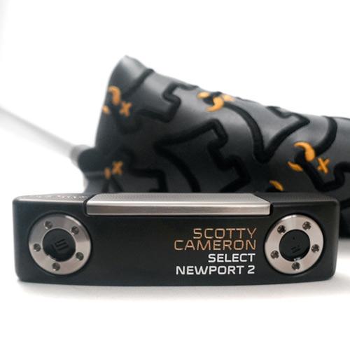 スコッティキャメロン ニューポート2 カスタムパター(ブラック/ゴールド) 口コミ 評判 価格 最安値